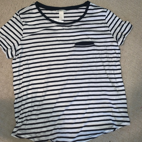 846487037e1 h & m striped t shirt